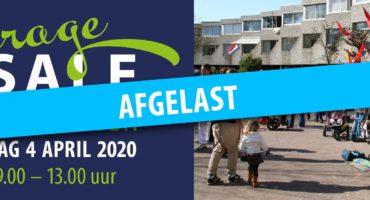 Garagesale 4 april 2020 – AFGELAST